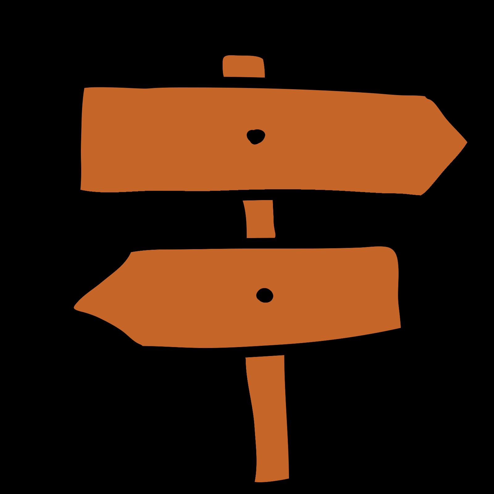 Signpost Tourist icon