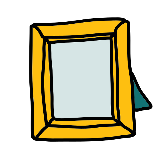 Standing Photo Frame icon