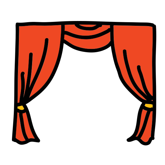 Theatre Curtain icon