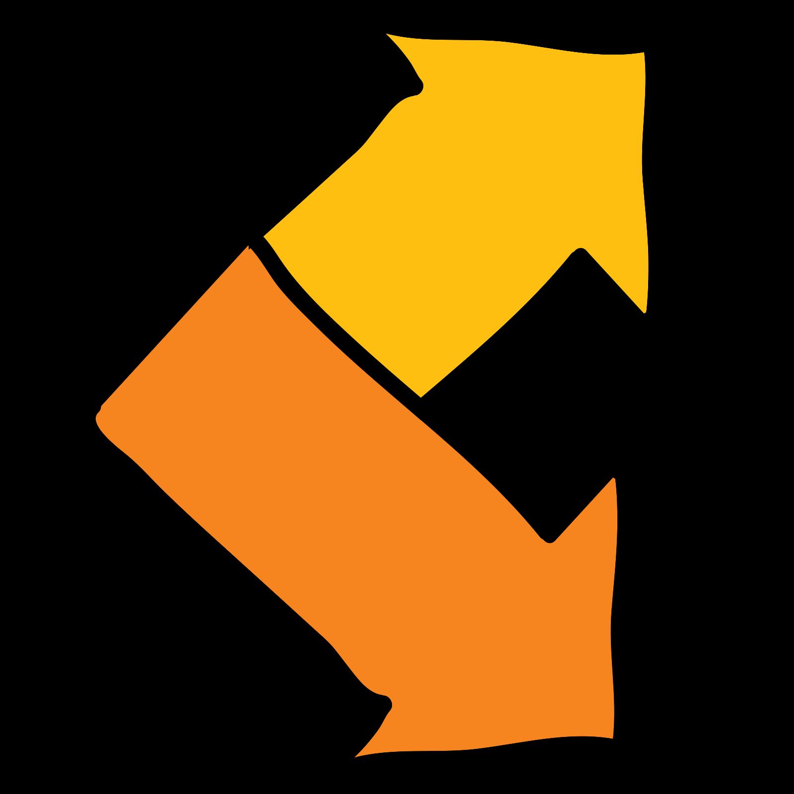 Up Down Right Arrow Arrows icon
