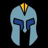 armored helmet icon