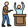 bank robbery icon