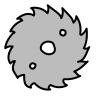 saw blade icon