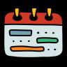 timeline week icon