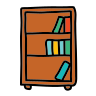 Bücherregal icon