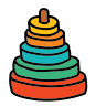 Children Pyramid icon