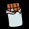 Barre de chocolat icon