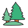Christmas Outline icon