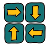 Direcções Four Way icon