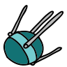 Earth Sputnik icon