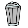 Empty Trash icon