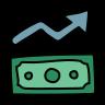 economic improvement icon