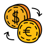 exchange euro icon