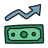 economic improvement icon