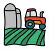 Field and Tractor icon
