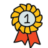 First Place Ribbon icon