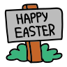 Happy Easter icon