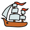 Historic Ship icon