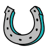 Horseshoe Outline icon