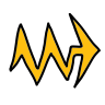 Lightning Arrow icon