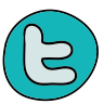 Logotipo antigo do Twitter icon