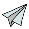 Origami Airplane icon