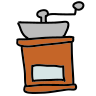 Pepper grinder icon