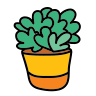 Planta en maceta icon