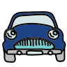 Auto retrò icon