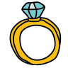 Ring Vorderansicht icon