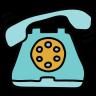 Звонящий телефон icon