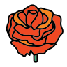 Single Rose icon