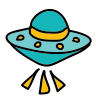 Alien Spaceship icon