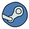 Steam Circled icon