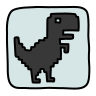 Steve Jumping Dino icon