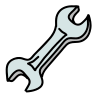 Wrench Outline icon