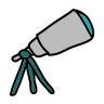 Telescopio icon