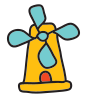Mulino a vento icon