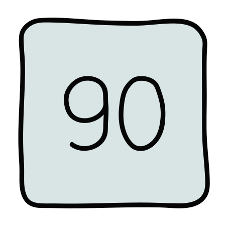 90 icon