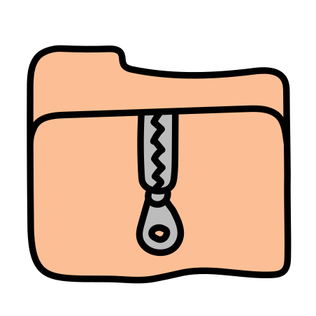 Archive Folder icon in Doodle
