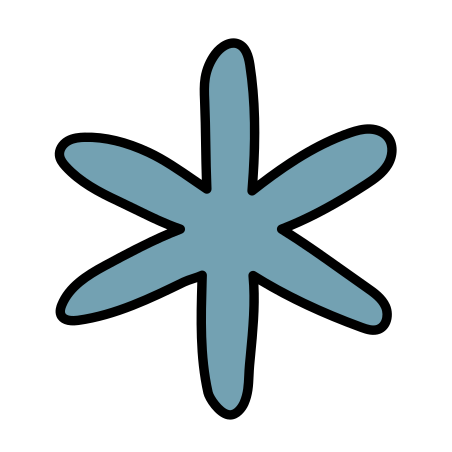 별표 icon in Doodle