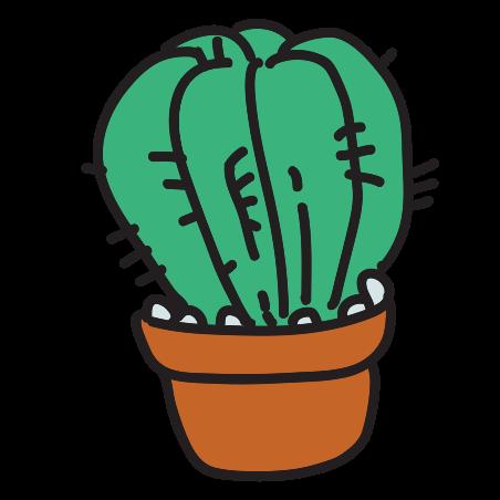 Cactus in Pot icon