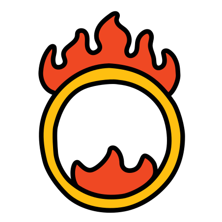 Circus Ring Of Fire icon