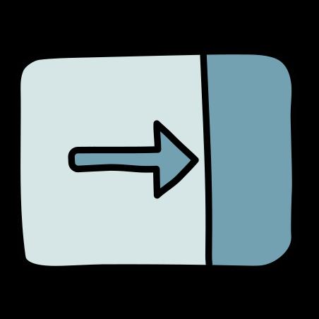 닫기 창 icon in Doodle