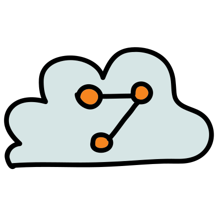 Cloud Share Symbol icon