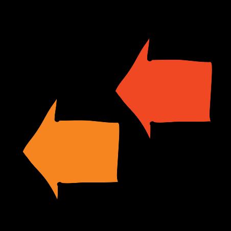 Double Left Arrows icon