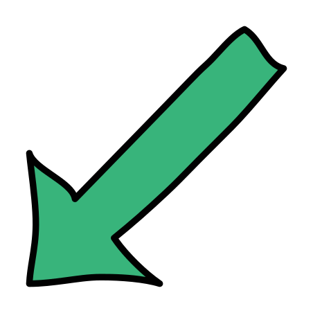 Down Left icon