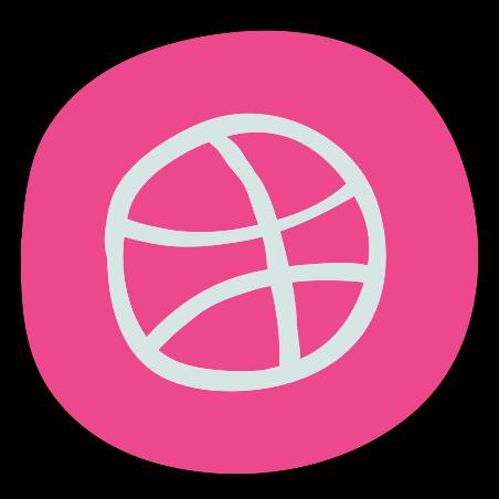 Dribbble Old Logo icon