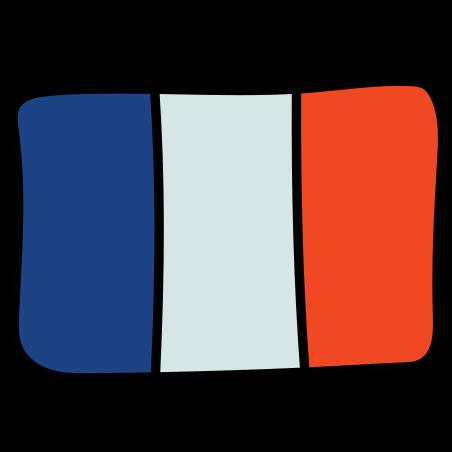 프랑스 icon in Doodle