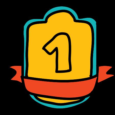 올림픽 메달 골드 icon